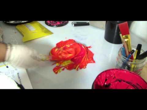 YOTESLAYA Shirts - Behind the Scenes Process make! - 동영상