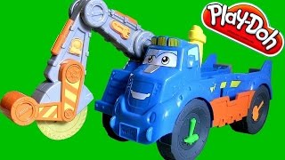 Play Doh Buzzsaw All Woodcutter Playset Diggin' Rigs Construction Playdough By Toycollector
