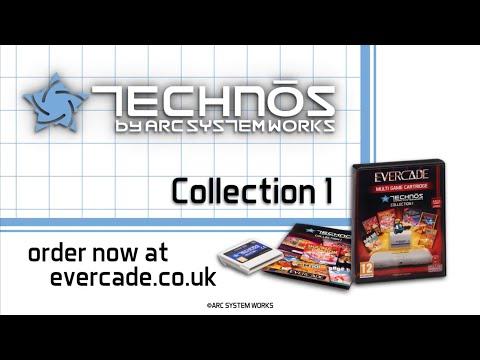 Evercade Technos Collection 1 Cartridge Trailer