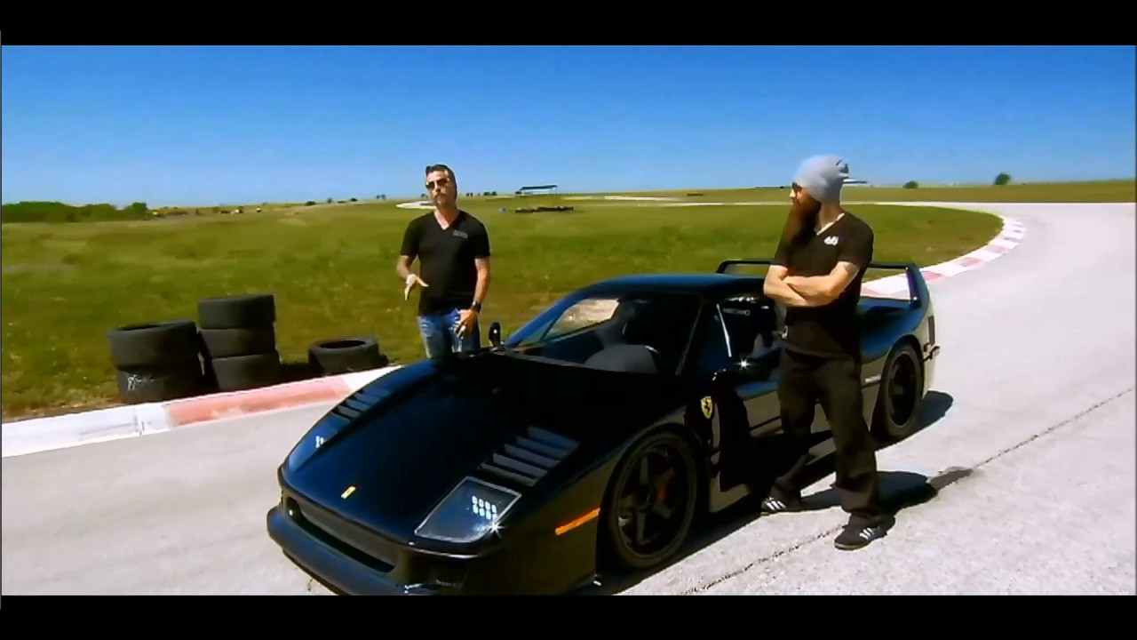 Ferrari f40 fast and loud