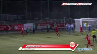 FC-Astoria Walldorf - Kickers Offenbach: Tore und Höhepunkte