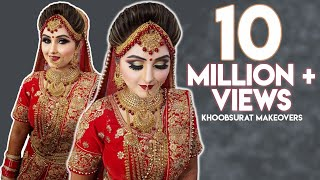 Must Watch | Beautiful Bridal Makeup | Khoobsurat Makeovers | Rubina Verma