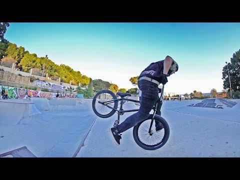 BMX BIKE TO THE NUTS!