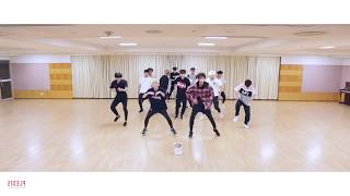 [mirrored & 50% slowed] SEVENTEEN - DON'T WANNA CRY Dance Practice Video