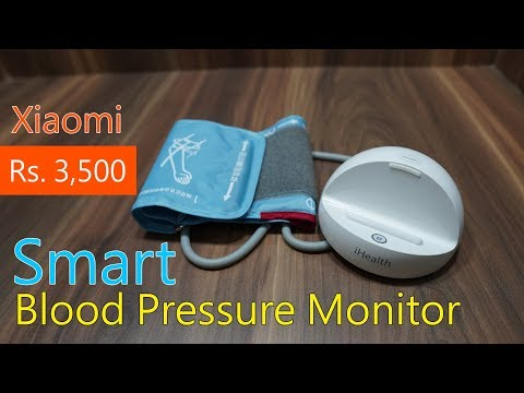 xiaomi-ihealth-bp3l-smart-wireless-blood-pressure-monitor-for-rs.-3,500-(approx)
