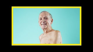 Attitude.co.uk | 86-year-old Attitude reader Hugh gets naked to prove you're never too old to celeb