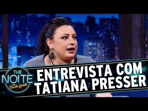The Noite (11/08/16) - Entrevista com Tatiana Presser