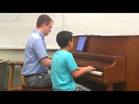 ETHAN'S PIANO RECITAL  OED TO JOY BEETHOVEN