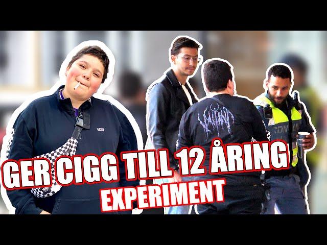 12 ÅRING FÅR CIGG EXPERIMENT! - Daniel Norlin