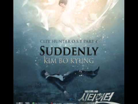 kim bo kyung-suddenly city hunter ost(full audio)mp3 link