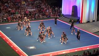 Cheer Athletics Panthers Worlds 2012 Semi Finals