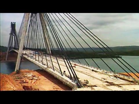 Dokumentasi Pembuatan Jembatan BARELANG - Batam