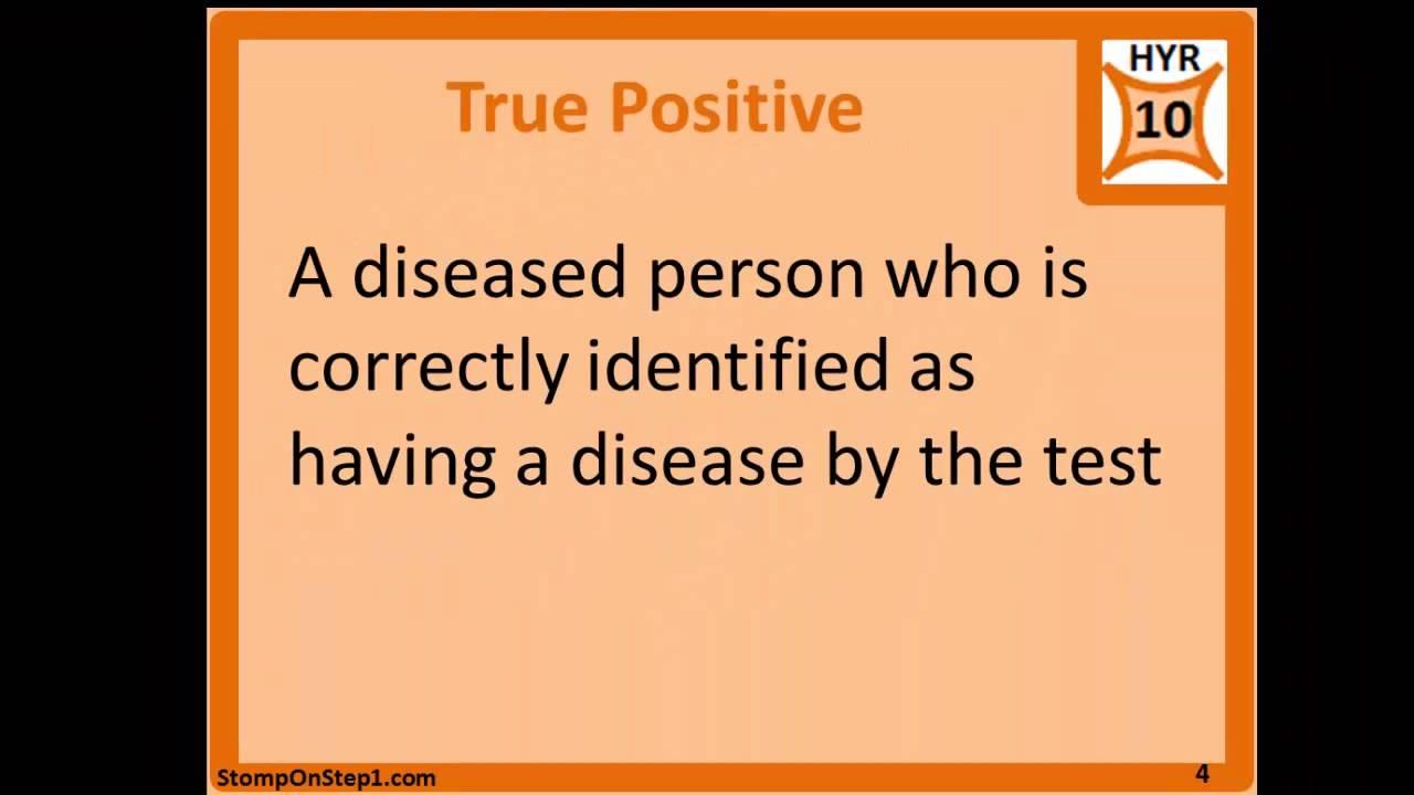 2x2 Table False Positive False Negative True Positive True ...