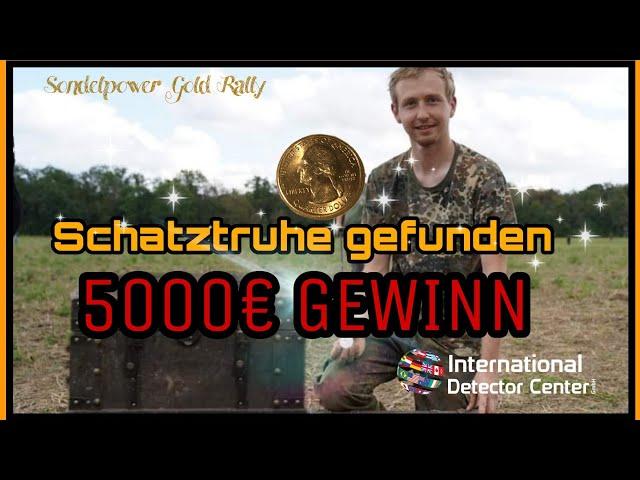5000€ #Metalldetektor #Gewonnen #Schatztruhe mit dem #Metalldetektor beim Sondeln gefunden #Silber
