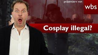 Sind Cosplay-Kostüme illegal? | RA Solmecke und GZM Cosplay Management