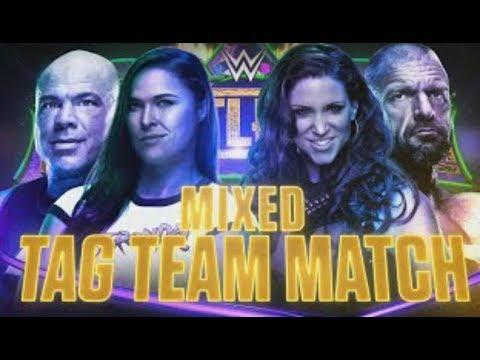 Ronda Rousey Vs Stephanie McMahon - WWE 2K18 - Wrestlemania Weekend Hype thumbnail