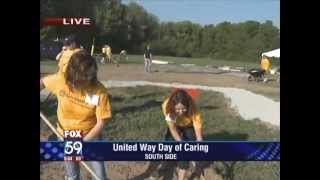 Building A Educational Playground For The United Way Day Of Caring - Fox59