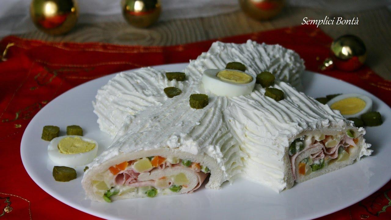 Tronchetto Di Natale Zafferano.Tronchetto Di Natale Salato