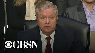 IG report hearing part 10: Lindsey Graham's closing statement