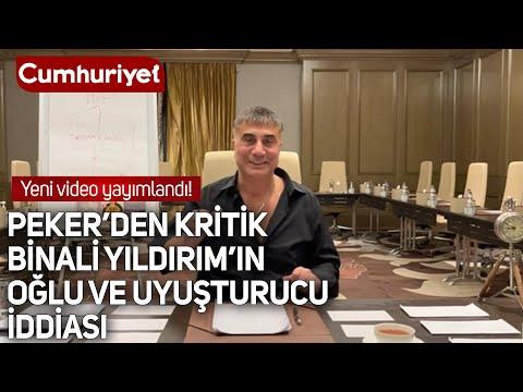 Suç örgütü lideri Sedat Peker'den yeni video: Binali Yıldırım'ın oğlu ile ilgili çok kritik iddia
