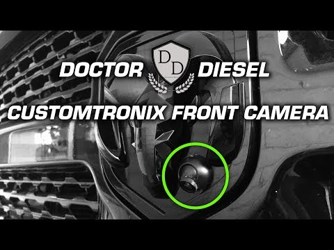 Customtronix Front Camera Installation for RAM Trucks with UConnect