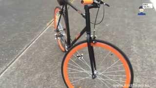 fixie fiets review de jacob bike sportieve stadsfiets