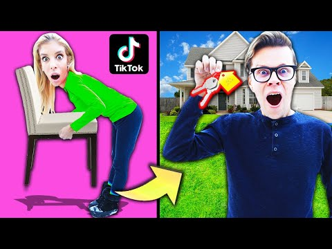 testing-viral-tik-tok-life-hacks-to-buy-mom's-house!-(24-hour-secret-reveal)