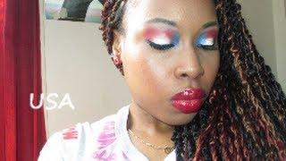 Makeup Tutorial:USA Thumbnail