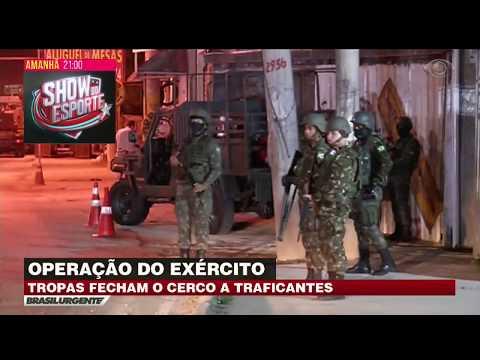 RJ: Tropas Fecham Cerco A Traficantes