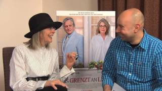 Interview Diane Keaton 2014 for the movie AND SO IT GOES