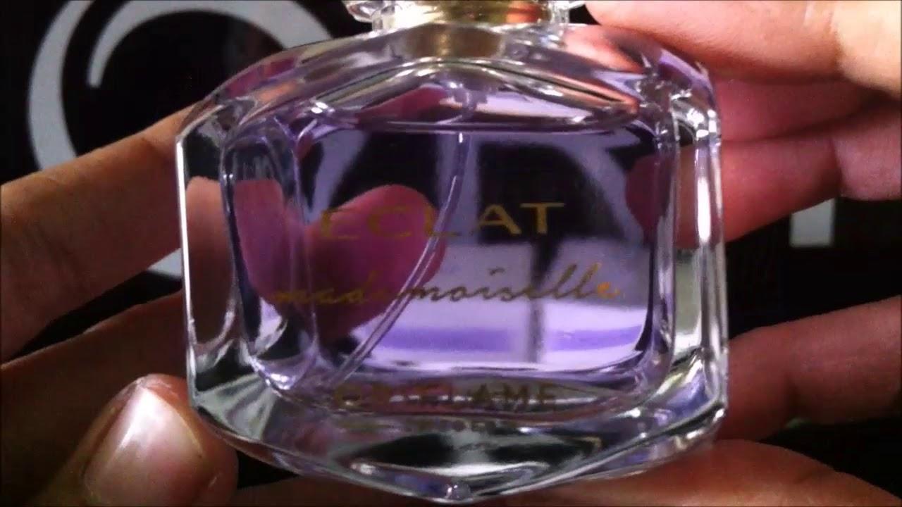 Unboxing Parfum Eclat Mademoiselle 32871 Youtube