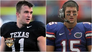 Sam Ehlinger is like a right-handed Tim Tebow - Ryan Leaf | College Football Live