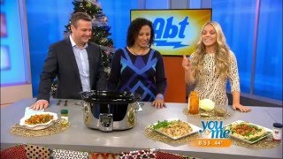 APLiving in the News // WCIU: Healthy Slow Cooker Recipes