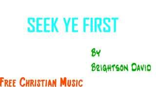 Seek Ye First - Instrumental Lyric Video (HD 1080p)