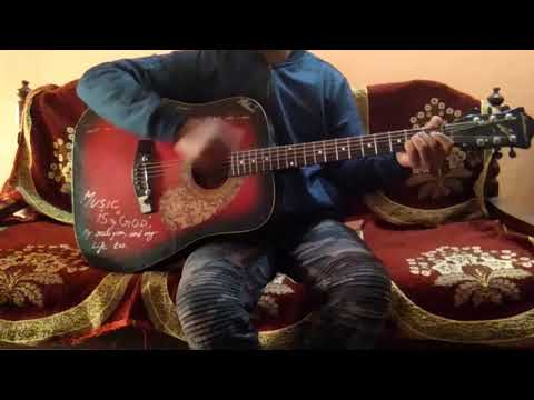 """Sang Hoon Tere"" Of ""Bhuvan Bam""/Easy Guitar Chords/Full song Lesson/Tutorial/Guitar cover"