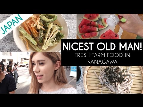 THE NICEST OLD MAN | Organic Tempura & Fashion Haul