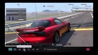 Gran Turismo 5 Max G-Force Test Mazda RX-7 Spirit R Type A (FD) '02
