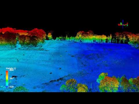 RE Flying Machines: LiDar Ground Surveying