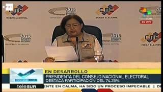 La oposición gana las elecciones venezolanas con 99 diputados