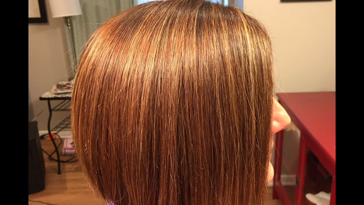 Highlights With Color Painted In Between Foils Corrective