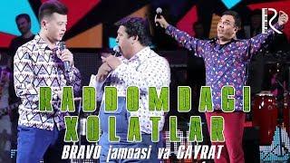 Bravo jamoasi & Gayrat - Raddomdagi xolatlar (Bojalar SHOU)