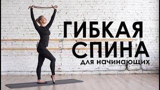 Упражнения для спины и плеч. Выпуск для новичков.