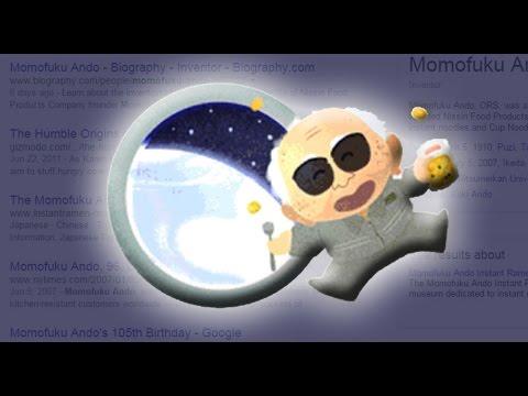 Google Doodle: Momofuku Ando's 105th Birthday [HD]