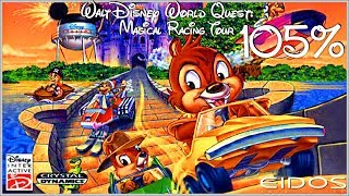 Walt Disney: World Quest: Magical Racing Tour - 105% COMPLETE Walkthrough - No Commentary