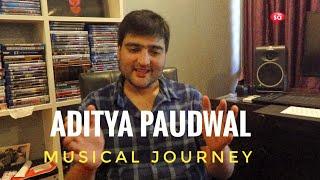 My musical influences and more || Aditya Paudwal | S09 E10 || converSAtions | SudeepAudio.com