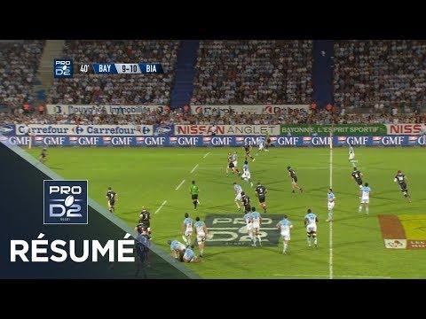 PRO D2 - Résumé Bayonne-Biarritz: 24-30 - J8 - Saison 2017/2018