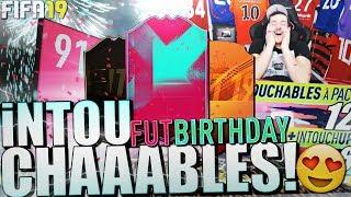 Birthday, MOTM, & INTOUCHABLES 89+ : ça avance VITE 😱 Pack Opening FIFA19
