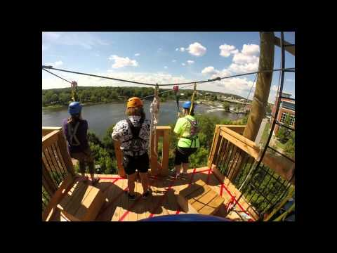 Blue Heron Zipline - Chattahoochee Whitewater Park   Columbus, GA   Phenix City, AL
