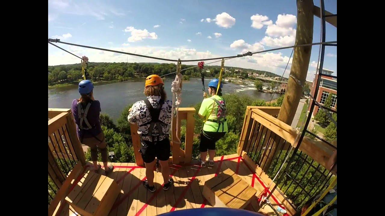 Blue Heron Zipline - Chattahoochee Whitewater Park | Columbus, GA ...