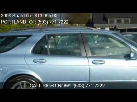 2008 Saab 9 5 23T SportCombi 4dr Wagon For Sale In PORTLAND
